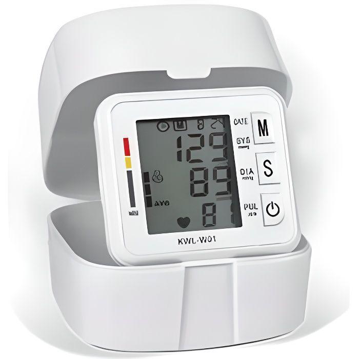 Moniteur de pression artérielle numérique, Tonomètre de fréquence cardiaque portable, tensiomètre électronique