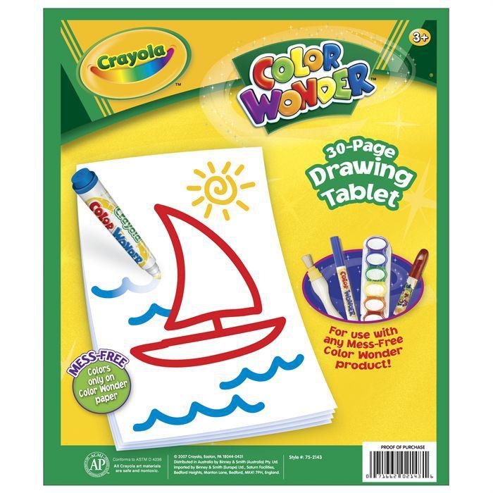 Crayola Recharge papier Color Wonder