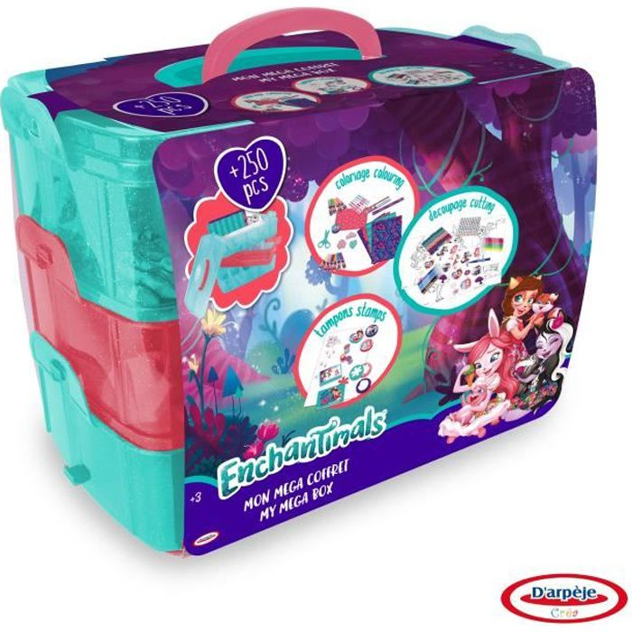 ENCHANTIMALS - Ma Méga Box - 250 pcs