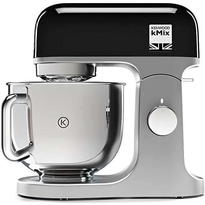 KENWOOD Robot pâtissier KMX750BK - 1000 W - 5 L - Noir
