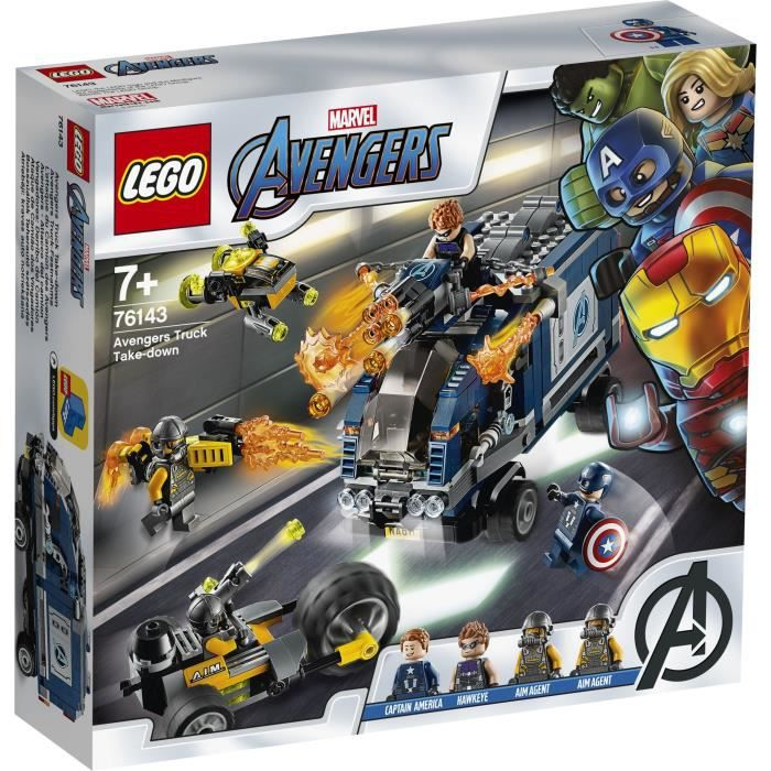 LEGO® Marvel Super Heroes™ 76143 -L'attaque du camion des Avengers