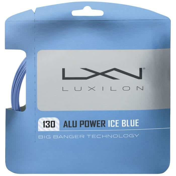 Cordage Luxilon Alu Power Ice 1.30 12m - Couleur:Bleu Jauge:130