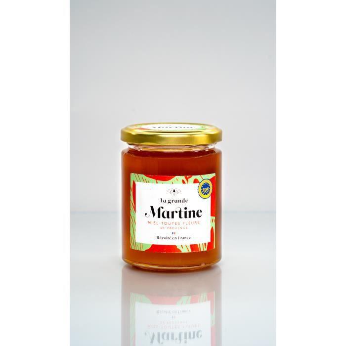 Miel Toutes fleurs -La Grande Martine- IGP Provence 380gr