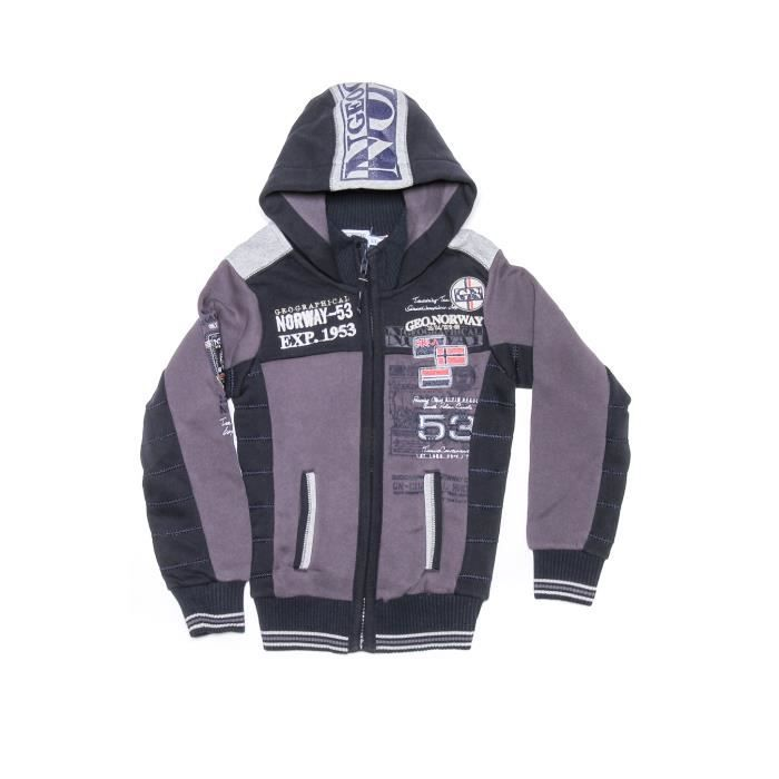 Sweat Enfant Geographical Norway Geecker Gris