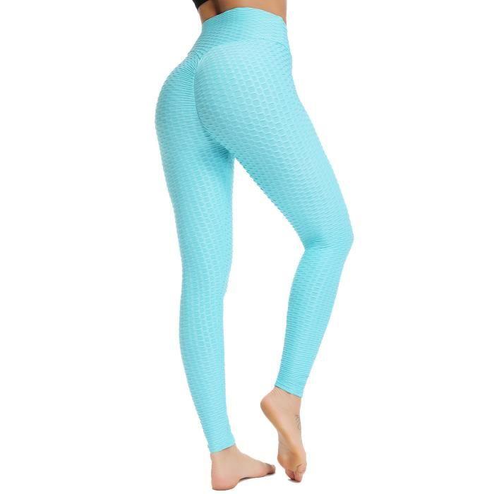 STARBILD Femmes Leggings de Sport Anti-Cellulite Pantalon de Compression Push Up Taille Haute Fesse Remontée Yoya Fitness