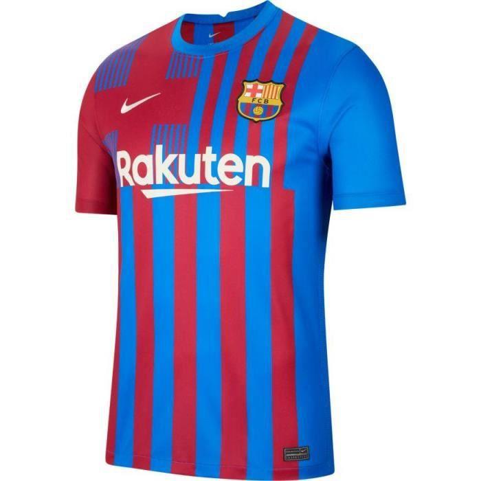 MAILLOT DOMICILE FC BARCELONE BLEU ADULTE 2021/22