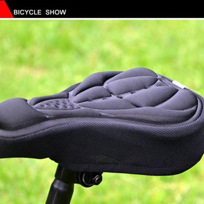 petrichorr Housse selle vélo confort confortable 3D vtt doux Silicone Gel Protection coussin de coussin de vélo