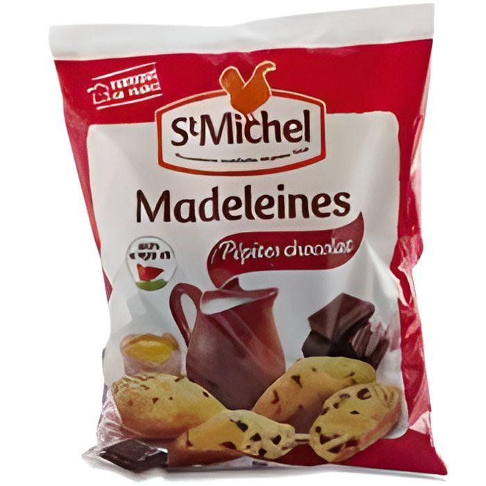 Madeleines pépites chocolat 400 g St Michel