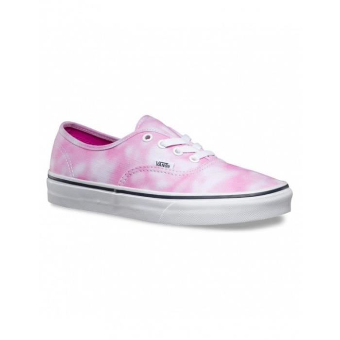 Chaussures Vans K Authentic - Tie Dye Rose
