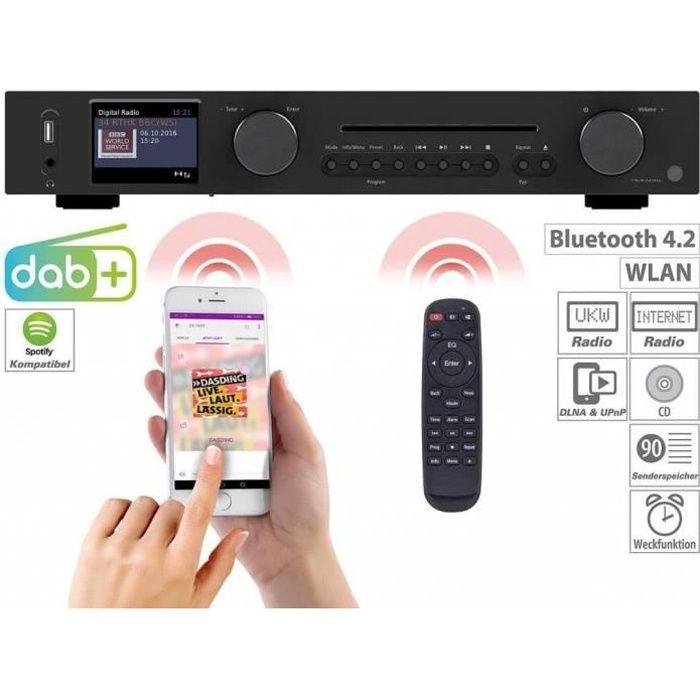 Radio VR WLAN-HiFi-IRS-695.cd Tuner avec radio Internet, CD, DAB +, FM et Bluetooth, MP3 / WMA