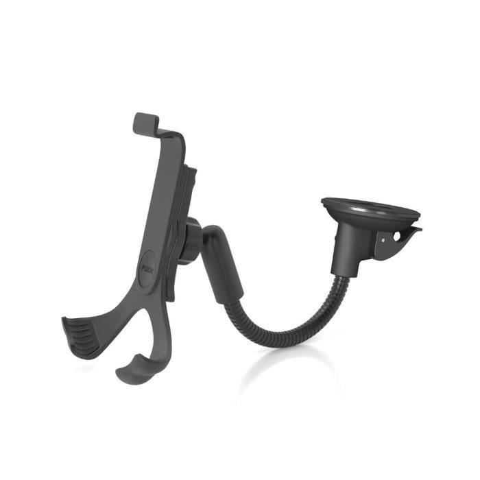 WEWE Support universel smartphone pour voiture - Fixation ventouse sur le pare-brise avec bras déporté Universel: de 4.4- à 6.5-
