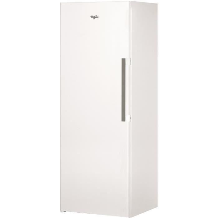 WHIRLPOOL UW6F1CWB Congélateur armoire-222 L-Froid No Frost-A+-L 59,5 x H 167 cm-Blanc