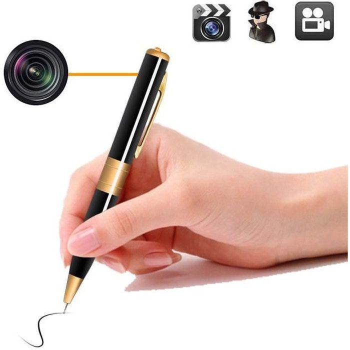 CAMÉRA MINIATURE HD 720P sécurité Caméra Espion Stylo Mini Webcam C