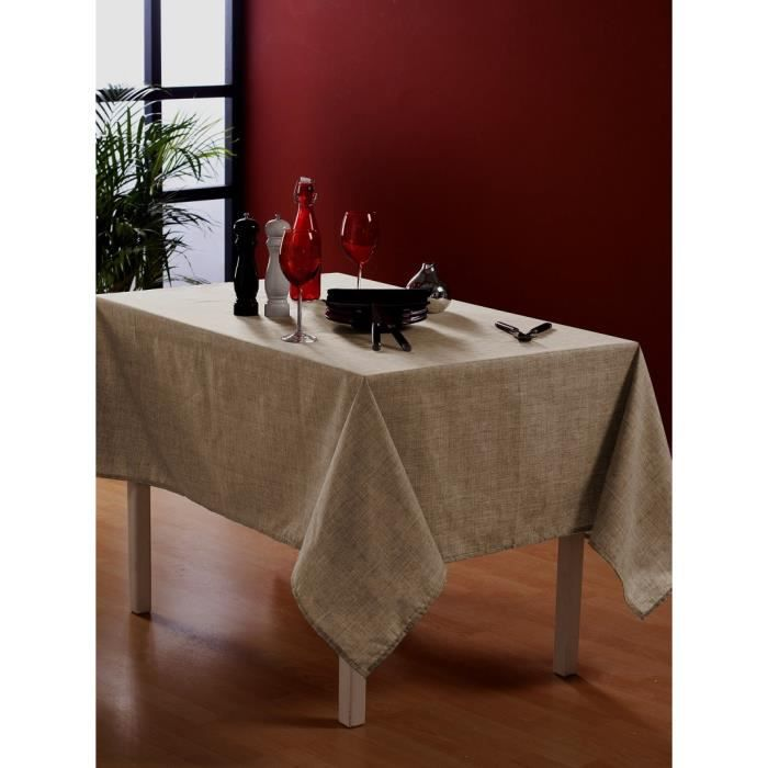 nappe en tissu ronde 150 cm achat vente nappe de table soldes cdiscount. Black Bedroom Furniture Sets. Home Design Ideas