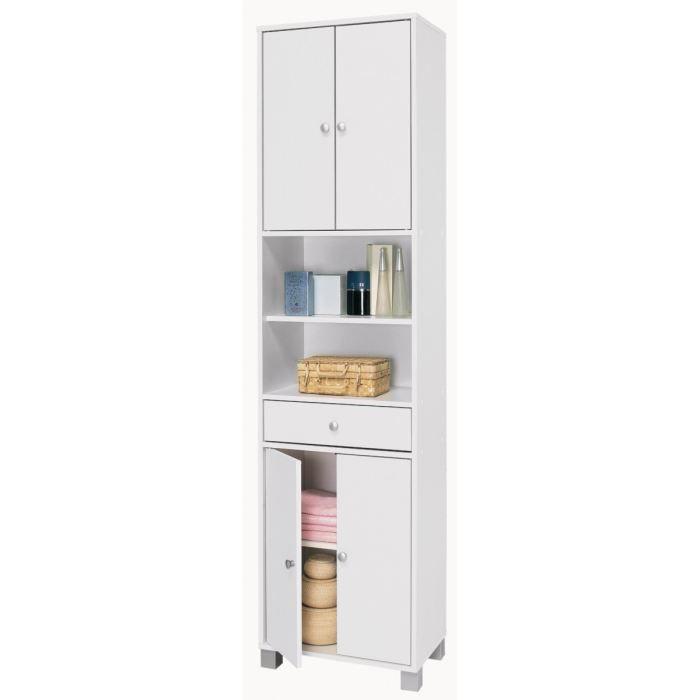 COLONNE - ARMOIRE SDB BIKINI Armoire de salle de bain L 50 cm - Blanc