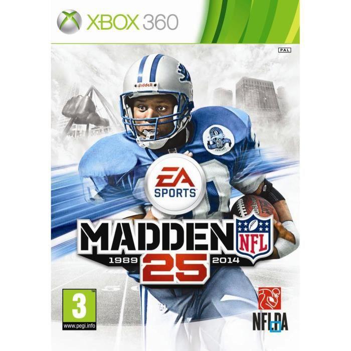 JEU XBOX 360 MADDEN NFL 25 [IMPORT ANGLAIS] [JEU XBOX 360]