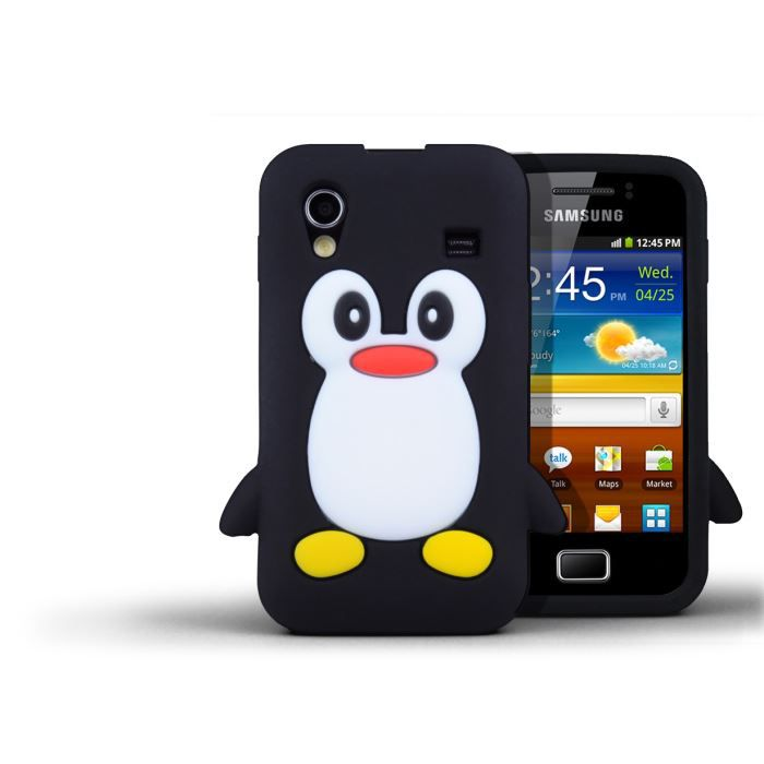 coque samsung galaxy ace pingouin achat vente coque. Black Bedroom Furniture Sets. Home Design Ideas