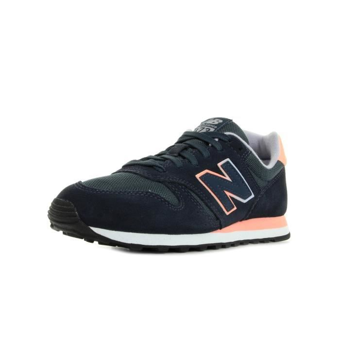 basket new balance bleu et rose