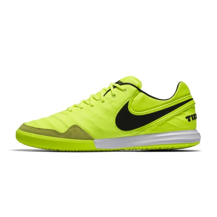 official photos ab3f3 597dc Chaussures football Nike TiempoX Proximo IC Jaune - Prix pas cher ...