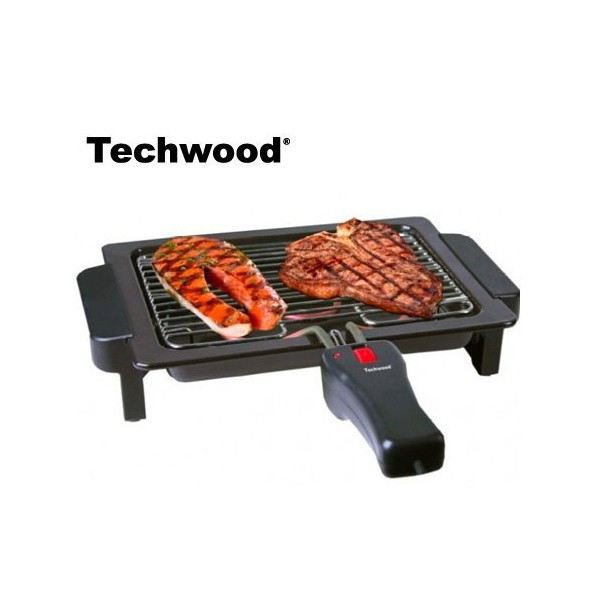 Barbecue lectrique de table 1000w techwood r achat - Grill electrique de table ...