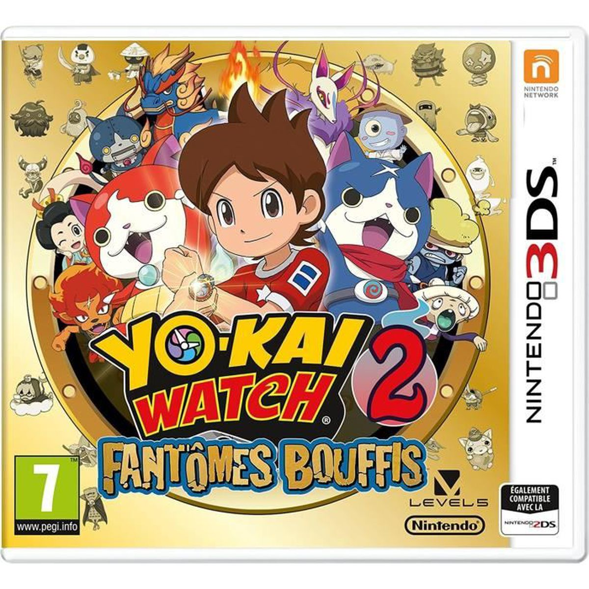 yo kai watch 2 fant mes bouffis 3ds 2 figurines achat vente jeu 3ds yo kai watch 2 fant mes. Black Bedroom Furniture Sets. Home Design Ideas
