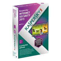 ANTIVIRUS Kaspersky Internet Security 2013 1 Poste / 1 An