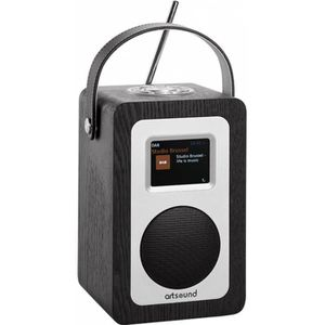RADIO CD CASSETTE ARTSOUND R4B Radio portable - Noir - Wifi, Interne