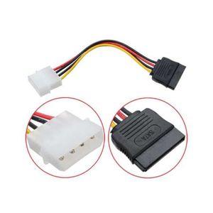 CÂBLE INFORMATIQUE Cable Adaptateur MOLEX - Alimentation - MOLEX IDE