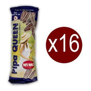 MIX FRUITS - GRAINES Lote de 16 sachets de PIPAS QUEEN GRAINES DE TOURN