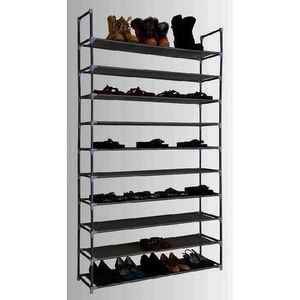 MEUBLE D'ENTRÉE Shoe rack for 50 pairs of shoes - makes space for