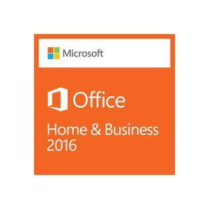 BUREAUTIQUE Microsoft Office Home and Business 2016 Pour Dell