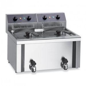 FRITEUSE ELECTRIQUE Friteuse électrique de table - 2 bacs 9 litres - 2