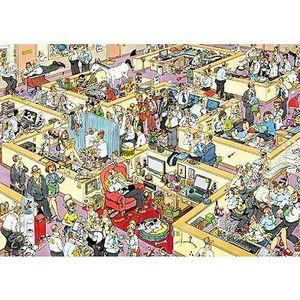 PUZZLE Puzzle 1000 pièces - Jan Van Haasteren : Le bureau