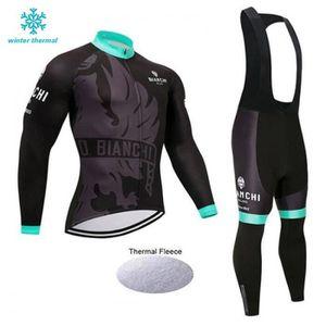 TENUE DE CYCLISME BIANCHI Hiver molleton thermique de cyclisme pour