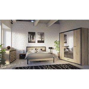 CHAMBRE COMPLÈTE  Chambre à coucher complète en panneaux de particul