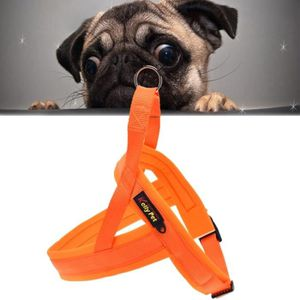 HARNAIS ANIMAL Chien compagnie en nylon Confortable O-ring A7 Lai