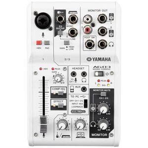 CARTE SON ET DSP Yamaha AG03