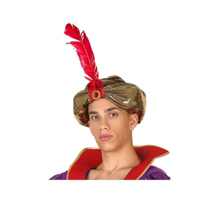 ATOSA Chapeau Vr. Doré - Adulte - Homme - Jaune