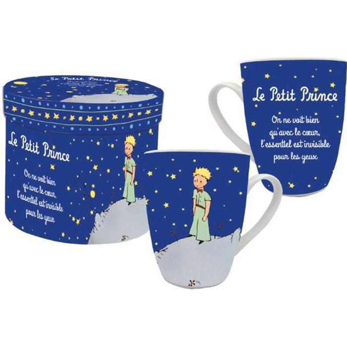 Tasse de collection bleu Le Petit Prince de St Exu