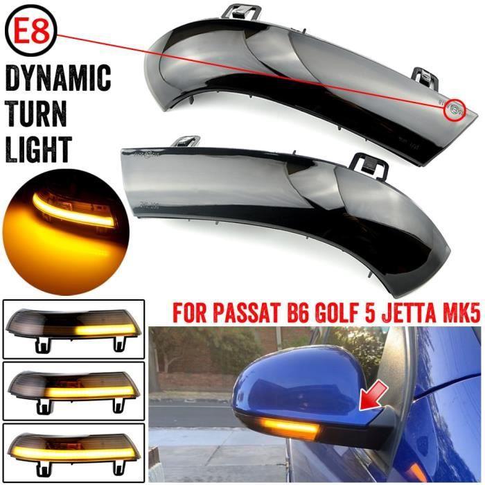 Clignotant LED Dynamique Pour VW Golf 5 GTI V MK5 Jetta Passat B5.5 B6 Sharan Superbe Eos, Indiquez de Miroir