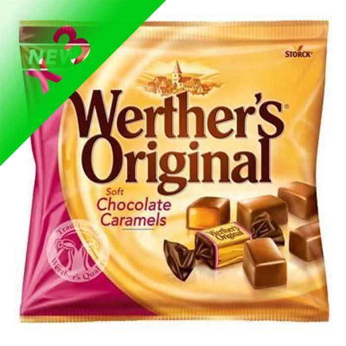 [LOT DE 3] WERTHER'S ORIGINAL Caramels tendres enrobés de chocolat au lait - 180 g