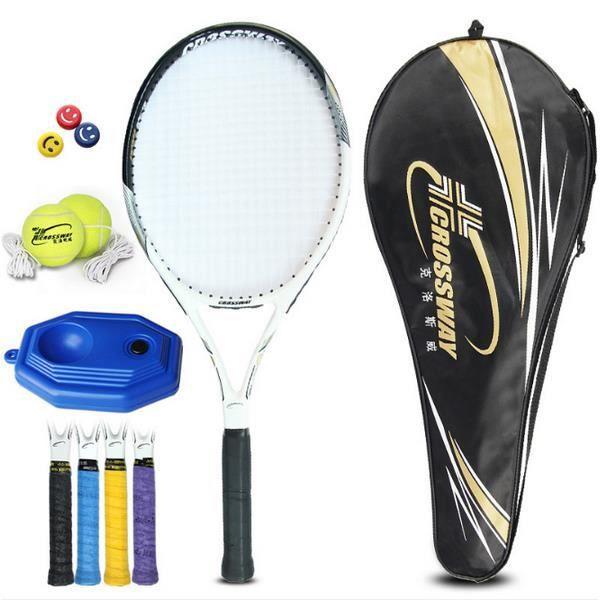 Raquette de tennis en composite carbone homme et femme entraînement sportif 242-1