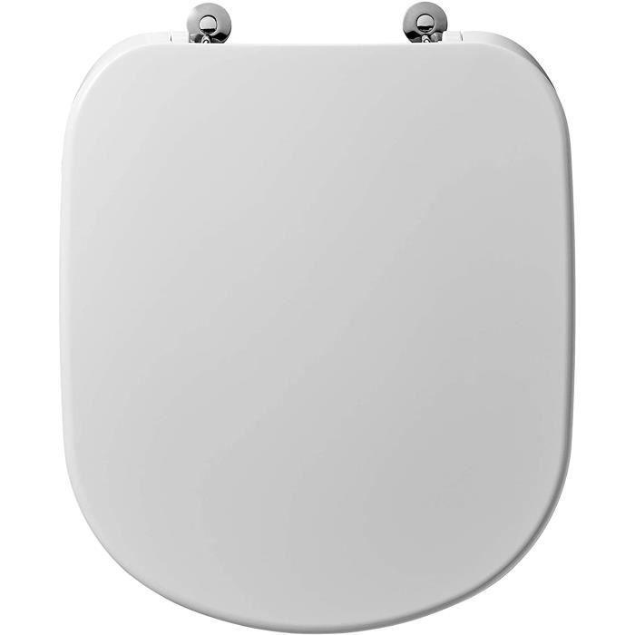 Ideal standard Abattant Kheops+ standard blanc réf T679201