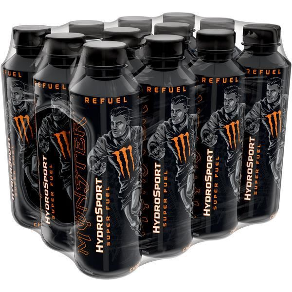 Monster Hydro Sport Super Fuel Refuel Charge Drink 0,65l (Pack de 12)