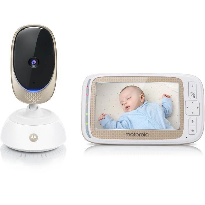 MOTOROLA Babyphone Comfort 85 connect 2 en 1 - wifi sur smartphone + ecran video 5-