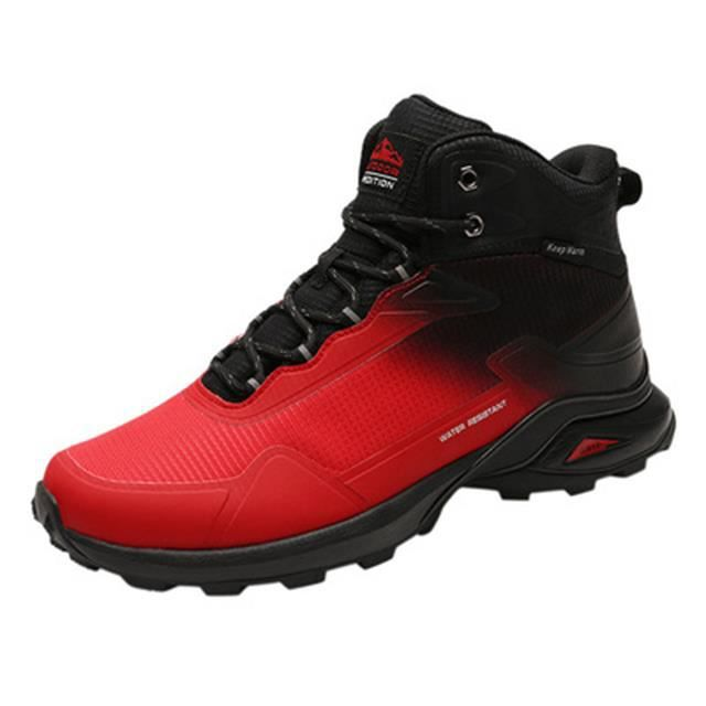 Chaussures de randonnée outdoor homme randonnée imperméable grande taille