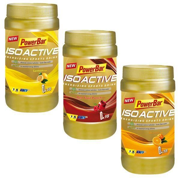 Boisson Powerbar Isoactive Sport Drink pendant l'effort Pot 600gr