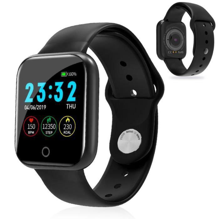 TD® Bracelet intelligent I5plus Bluetooth Push Watch Rappel de santé Surveillance Bracelet sportif
