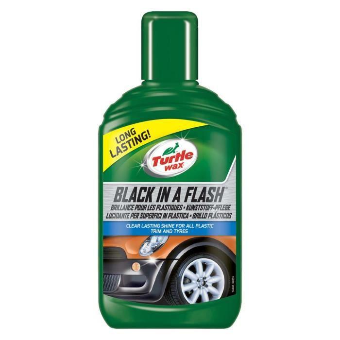 Turtle Wax Produit nettoyant extérieur - brillance pour les plastiques de la voiture 300ml