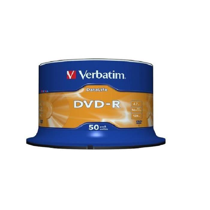 50 DVD-R Verbatim DATA LIFE